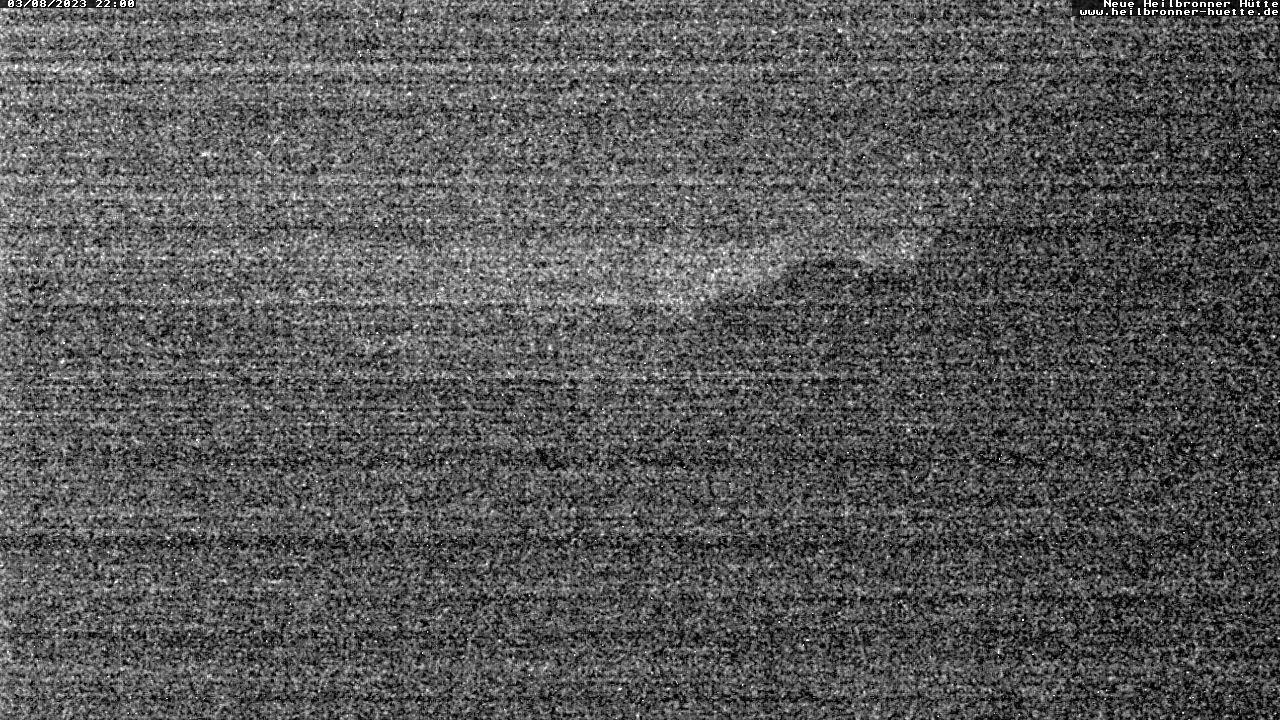 Heilbronner Hütte (2320m) - Blick Richtung Versailspitze und Silvretta