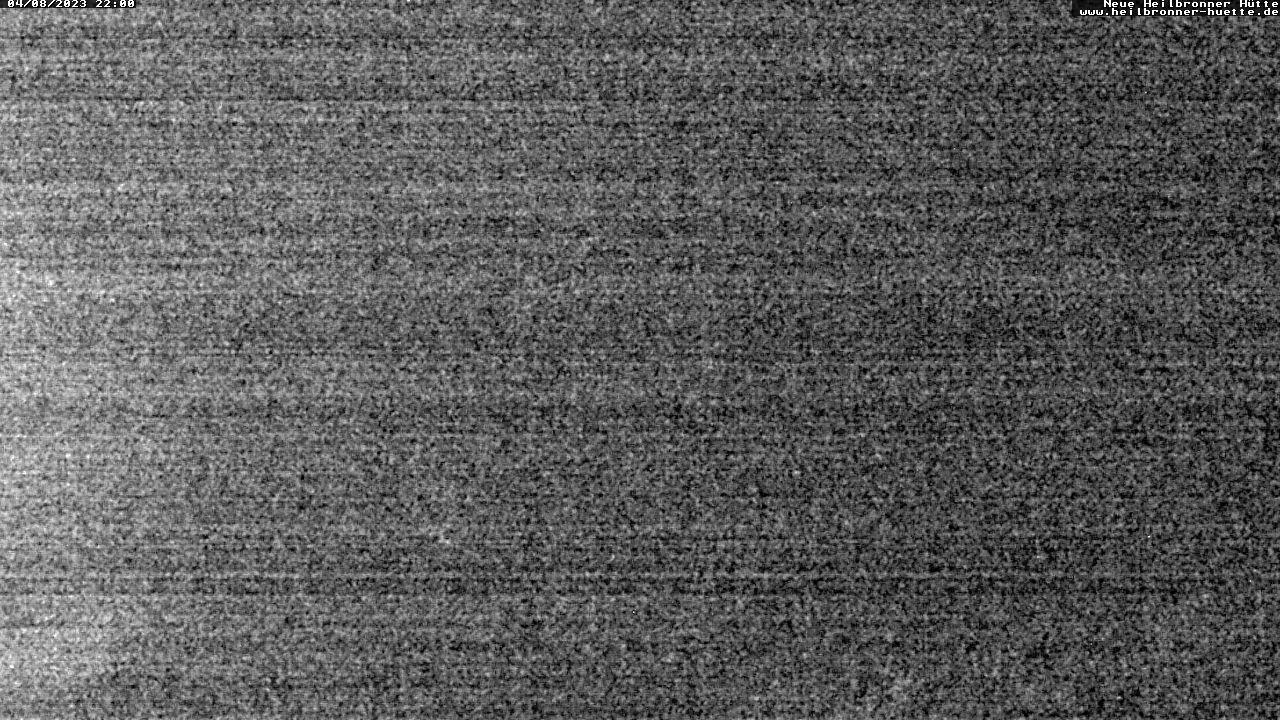 Heilbronner Hütte (2320m) - Blick Richtung Patteriol und Arlberg